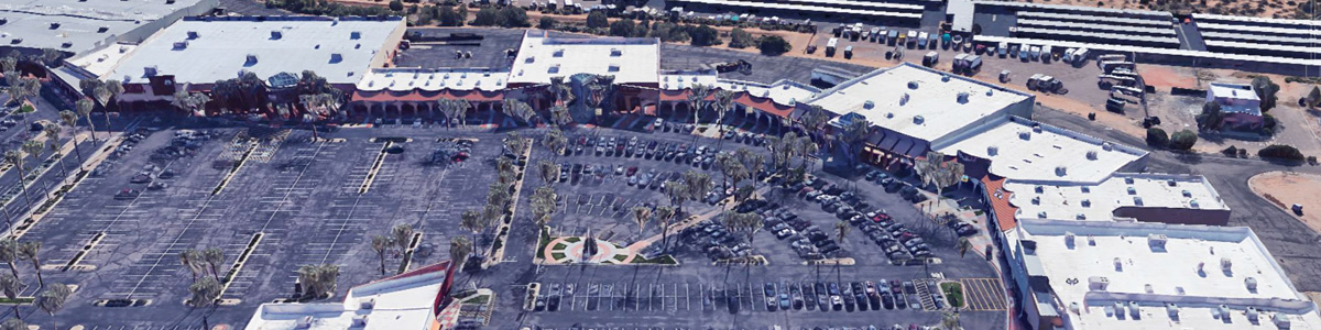 Retail Maintenance Projects at the Pavilion Shopping Center managed by Bernard Construction Services in Phoenix, Arizona